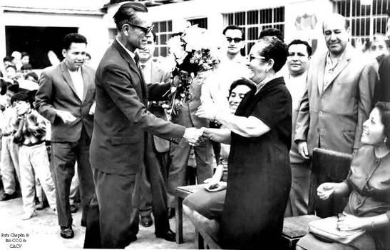 1960 (61b) 1960-65 Prof Ataulfo Fernandez entregan by Chepen-Ruta