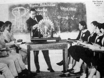 1968 (7) Prof Victor Zanini en clases Colegio El P by Chepen-Ruta