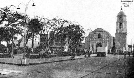 1993 (7) Plaza de Armas de Pacanga by Chepen-Ruta