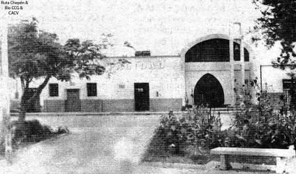 1993 (10) Plaza de Armas de Pueblo Nuevo by Chepen-Ruta