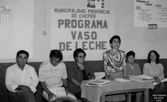 1993 (14) Programa Vaso de Leche de la Municipalid by Chepen-Ruta