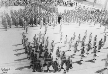 1960 (61d) 1960-70 Desfile de Fiestas Patrias Chep by Chepen-Ruta