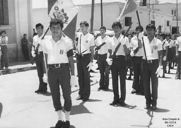 1970 (6d1) 1970-80 Desfile por Fiestas Patrias en  by Chepen-Ruta