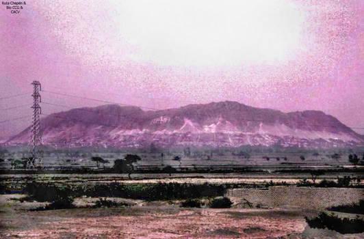 2a Cerro de Chepen vista frontal desde Carretera P by Chepen-Ruta