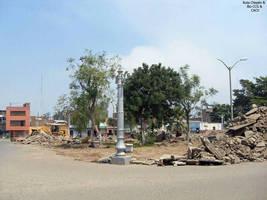 34a0 2009 Plaza Dos de Mayo demolicion de la antig by Chepen-Ruta