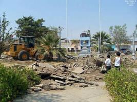 34a1 2009 (1) Plaza Dos de Mayo demolicion de la a by Chepen-Ruta