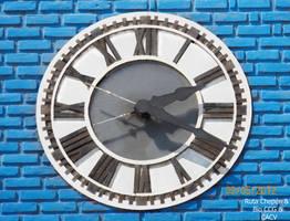 58a 1910 Reloj Iglesia San Sebastian aproximacion by Chepen-Ruta