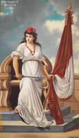 78e8 La Madre Patria pintura Emilio Burga Castae by Chepen-Ruta
