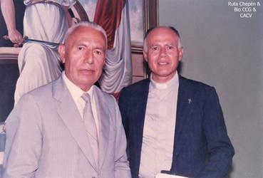 1992 Salvador Diaz Sagastegui (1912 -2001) profeso by Chepen-Ruta