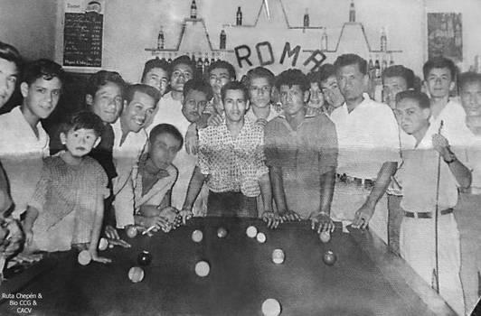 1962 (30a) 1962-1970 Bar Roma Billares by Chepen-Ruta
