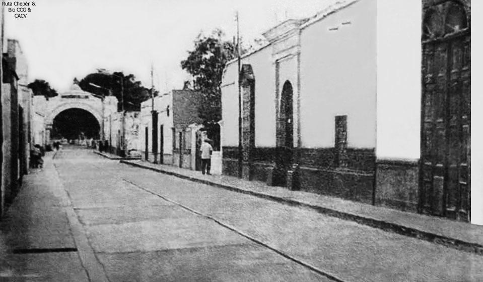 1957 (1b) San Pedro de Lloc by Chepen-Ruta