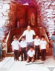 1957 (34a) Gruta de la Virgen de Lourdes del recor by Chepen-Ruta