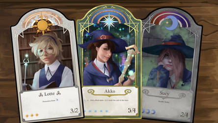 Little Witch Academia Cards by LimbohBimboh