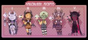 (PRICE DOWN!OPEN) Halloween2018(3/5 available) by KoiKoiSenpai