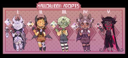 (closed) Halloween2018 by KoiKoiSenpai