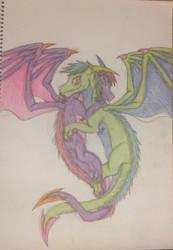 Fly hug by Gerbygup