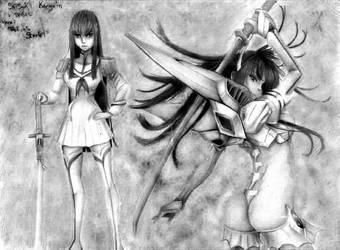 Satsuki (kill La Kill) by reniervivas666