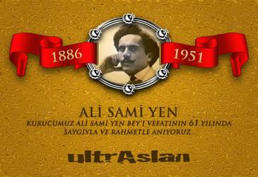 Ali Sami Yen Kurucumuz by uguraydin