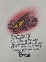 Dragon's Eye by tiggers23