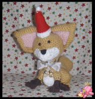 Christmas Fox by UnicornReality