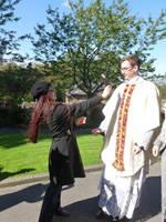 Harassing a Priest by UnicornReality