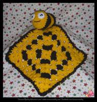 Bee Comforter by UnicornReality