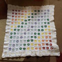 Rainbow Baby Blanket by UnicornReality