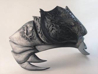 Ninja Gaiden Armor- headpiece by teranmx