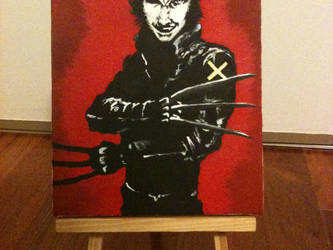 Wolverine Painting 2 by Badtzgirlxo