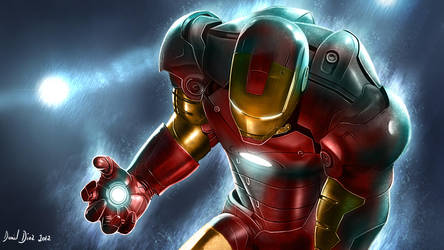 Ironman in the storm by danimix1983