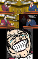 Miles Edgeworth and His Terrible Puns #8[SPOILER] by DarkMatter89