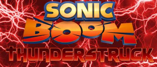 Sonic Boom Thunderstruck Logo by TheDarkMantis16