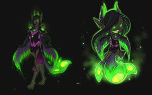 Corrupted Dreadwing Harpy by Iriadescent