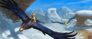 Rival Skies by TeaDino