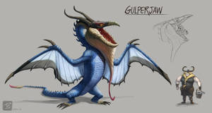 HTTYD: GulperJaw by TeaDino