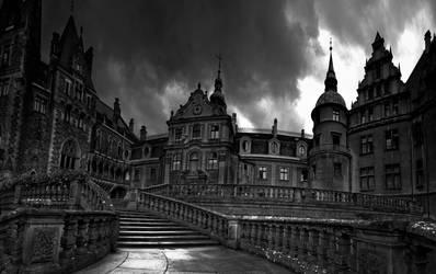 Castle in Moszna II by WiciaQ