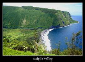 waipi'o valley by xanadian