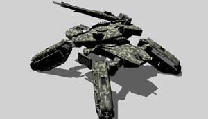 Mjollnir fire support tank. by ex-pacifist