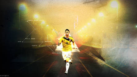 James Rodriguez Colombia Wallpaper By Evargass On Deviantart