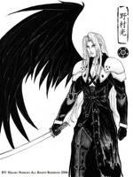Sephiroth: One Winged Angel by Hikaru-Ryuuen