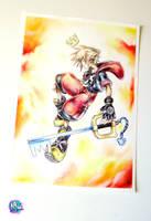 Sora   Kingdom Hearts by NirmtwarK-s