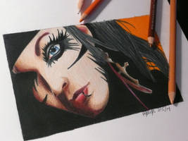 Andy Biersack II by Rybarsicle