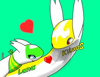Lana x Kituos by Kitugios