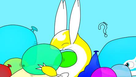 Balloon party by Kitugios
