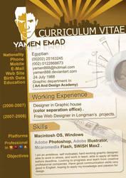 Me Cv by yamen888