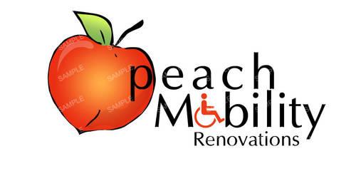 peach mobility Logo by acelogix