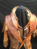 Shaman coat front view by simo024