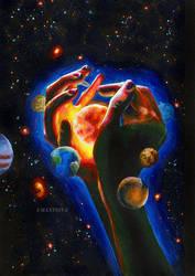 Solar system by umantsiva