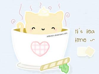 Tea Time by KelliBean