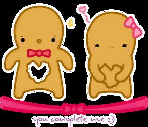 Gingerbread Love :9 by KelliBean